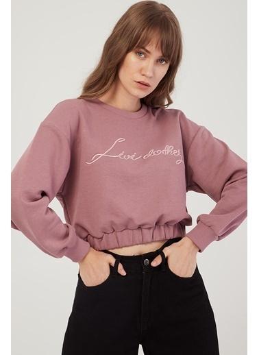 Modaset Sweatshirt Pembe